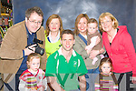 Kerry Olympian Paul Griffin who posed for photographs with fans to help raise funds for Special Olympics Ireland in Killarney Outlet Centre on Friday front row l-r: Caoimhe Jones, Paul Griffin, Grainne Jones. Back row: Dermot, Dorothy Moynihan, Tricia Jones, Muireann Jones and Dorothy Lynch Killarney