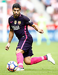 FC Barcelona's Luis Suarez during La Liga match. September 24,2016. (ALTERPHOTOS/Acero)