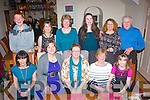 BIRTHDAY GIRL: Aine Quinn, Oakpark, Tralee (seated centre) celebrated her birthday last Thursday night in Bella Bia restaurant, Tralee with family and friends Front l-r: Deirdre O'Brien, Eileen Hegarty, Aine Quinn, Eilish and Sarah Cleary. Back l-r: Kevin Foley, Mary Hill, Mairead Quinn, Niamh Cleary, Jenny Shanahan and John Cleary.