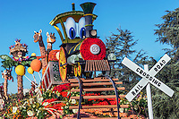 Pasadena Rose Parade Floats 2015