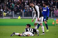 Paulo Dybala of Juventus , Rodrigo Bentancur of Juventus <br /> Torino 1-12-2019 Juventus Stadium <br /> Football Serie A 2019/2020 <br /> Juventus FC - US Sassuolo 2-2 <br /> Photo Federico Tardito / Insidefoto
