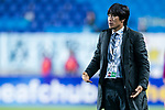 Suwon Samsung Head Coach Seo Jung Won gestures during the AFC Champions League 2017 Group G match between Suwon Samsung Bluewings (KOR) vs Kawasaki Frontale (JPN) at the Suwon World Cup Stadium on 25 April 2017, in Suwon, South Korea. Photo by Yu Chun Christopher Wong / Power Sport Images