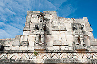 Mayan archeological site Kabah, Yucatan, Mexico