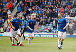 05.05.2019 Rangers v Hibs: Grado and Gregory Vignal