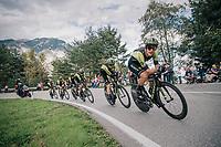 Matteo Trentin (ITA/Mitchelton-Scott)<br /> <br /> UCI MEN&lsquo;S TEAM TIME TRIAL<br /> Ötztal to Innsbruck: 62.8 km<br /> <br /> UCI 2018 Road World Championships<br /> Innsbruck - Tirol / Austria