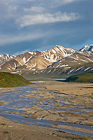 East fork of the Toklat river, Denali National Park, Interior, Alaska.