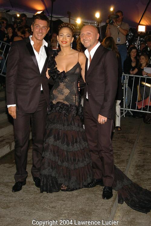 Domenico Dolce, Jennifer Lopez, Stefano Gabbana