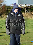 Drogheda United fitness coach Gerry Kelly pictured at a club trainig session at Mosney. Photo:Colin Bell/pressphotos.ie