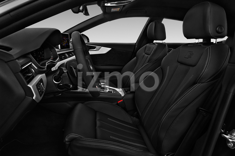Front seat view of 2017 Audi A5 Sportback Premium 5 Door Hatchback front seat car photos