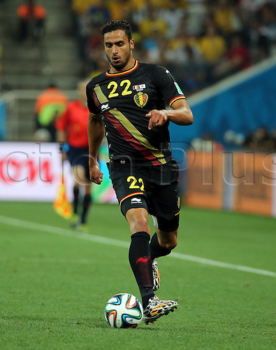 26.06.2014. San Paulo, Brazil. World Cup finals 2014, group stages. South Korea versus Belgium. Nacer Chadli (Belgium)