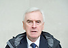 Andrew Marr Show <br /> departures<br /> BBC, Broadcasting House, london, Great Britain <br /> 5th March 2017 <br /> <br /> <br /> John McDonnell MP<br /> Shadow Chancellor <br /> <br /> <br /> <br /> Photograph by Elliott Franks <br /> Image licensed to Elliott Franks Photography Services