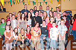 &nbsp;DOUBLE: Maura O'Connell of Glenoe, Listowel, celebrated her 21st birthday and her brother Brendan O'Connell celebrated his 18th at the Austin Stack&rsquo;s Clubhouse, Connolly Park, Tralee, on Saturday night last. Maura and Brendan are seated in front. They partied the night away in the company of family and many friends.<br />