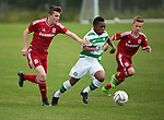 Karamako Dembélé in action in the 2015 Youdan Trophy between Celtic v Middlesborough. Photo by Glenn Ashley