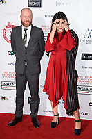 Teve Oram &amp; Alice Lowe at the 38th Annual London Critics' Circle Film Awards at the Mayfair Hotel, London, UK. <br /> 28 January  2018<br /> Picture: Steve Vas/Featureflash/SilverHub 0208 004 5359 sales@silverhubmedia.com