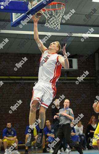 2012-11-11 / Basketbal / seizoen 2012-2013 / Soba - Turuka / Van Heesch Dimitri..Foto: Mpics.be