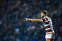 Owen Williams of Leicester Tigers. European Rugby Champions Cup match, between Leicester Tigers and Munster Rugby on December 17, 2016 at Welford Road in Leicester, England. Photo by: Patrick Khachfe / JMP