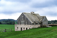 Beautiful wood anf fieldstone barn, Chadda Ford, Chester County, Pennsylvania, USA