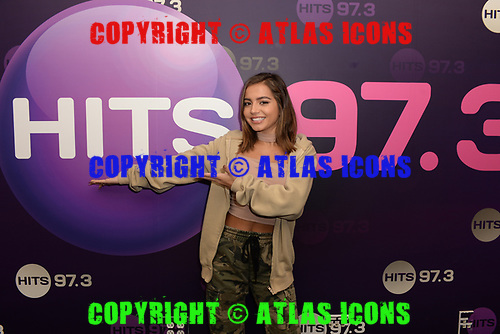 HOLLYWOOD, FL -  OCTOBER 23: Isabela Merced also known as Isabela Moner poses for a portrait at radio station Hits 97.3 Live on October 23, 2019 in Hollywood, Florida. Photo by Larry Marano © 2019