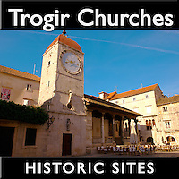 Trogir Churches Pictures, Photos, Images & Fotos