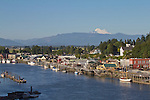 La Conner, Swinomish Channel,  Skagit County, Washington State,