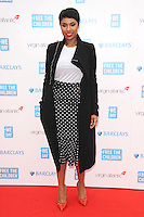 Jennifer Hudson at the We Day UK 2014 at Wembley Arena,  London. 07/03/2014 Picture by: Steve Vas / Featureflash