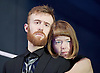 Macbeth <br /> by William Shakespeare <br /> at Young Vic, London, Great Britain <br /> press photocall <br /> 2nd December 2015 <br /> <br /> John Heffernan as Macbeth <br /> <br /> Anna Maxwell Martin as Lady Macbeth <br /> <br /> <br /> Photograph by Elliott Franks <br /> Image licensed to Elliott Franks Photography Services