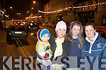 Nicole Murphy, Niamh Harnett, Norma and Jack O' Connor, were in Abbeyfealey on Sunday to see santa turn on the Christmas Lights...   Copyright Kerry's Eye 2008