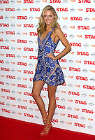 Kimberley Garner arriving for The Stag Premiere at Vue Leicester Square, London. 13/003/2014 Picture by: Dave Norton / Featureflash