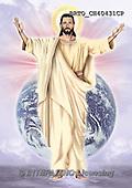 Alfredo, EASTER RELIGIOUS, OSTERN RELIGIÖS, PASCUA RELIGIOSA, Christo, paintings+++++,BRTOCH40431CP,#er#