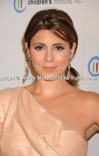 WEST HOLLYWOOD, CA - OCTOBER 17: Jamie-Lynn Sigler arrives at the 3rd Annual Autumn party at The London West Hollywood on October 17, 2012 in West Hollywood, California.
