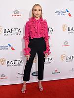 04 January 2020 - Beverly Hills, California - Jodie Comer. The 2020 BAFTA Los Angeles Tea Party held at Four Seasons Los Angeles . Photo Credit: Birdie Thompson/AdMedia