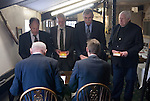 Court Leet,  Watchet, Somerset UK 2014. Jury Members of the Court Leet are sworn in. Annually held on the last Thursday in October at the Bell Inn.