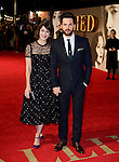 Lizzy Caplan and Tom Riley attending the 'Allied' UK Premiere at Odeon Leicester Square, London.