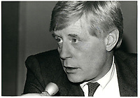 Reed Scowen<br /> circa 1980<br /> <br /> PHOTO : Agence Quebec Presse