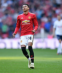 Jesse Lingard of Manchester United during the FA cup semi-final match at Wembley Stadium, London. Picture date 21st April, 2018. Picture credit should read: Robin Parker/Sportimage
