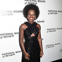 08 January 2020 - New York, New York - Lupita Nyongo at the National Board of Review Annual Awards Gala, held at Cipriani 42nd Street. Photo Credit: LJ Fotos/AdMedia