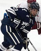 Evan Smith (Yale - 13) - The Harvard University Crimson tied the visiting Yale University Bulldogs 1-1 on Saturday, January 21, 2017, at the Bright-Landry Hockey Center in Boston, Massachusetts.