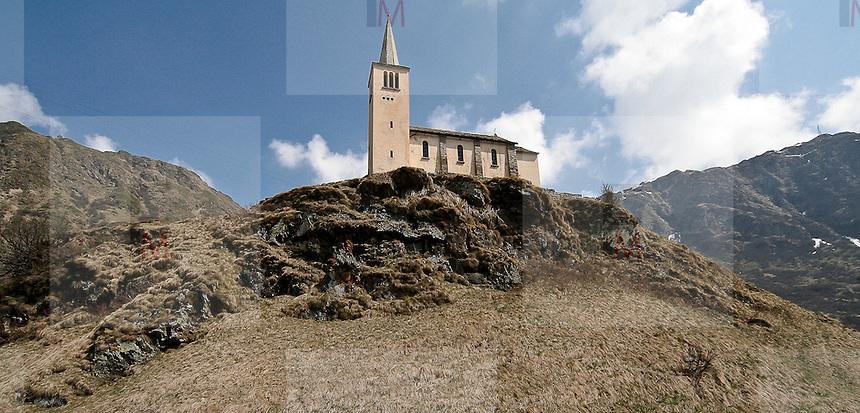 Old church in Val Formazza