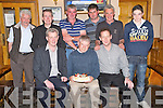 Mike Murphy, Cullina, Beaufort, pictured with Padraig O'Sullivan, Carl O'Sullivan, Jimmy Coffey, Kevin Devane, Kieran O'Connor, Donnacha Tangney, Timmy and Jonathan O'Keeffe as he celebrated his 50th birthday in Beaufort Bar on Friday night.