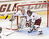 Kiera Kingston (BC - 32), Dru Burns (BC - 7) - The University of Minnesota-Duluth Bulldogs defeated the Boston College Eagles 3-0 on Friday, November 27, 2009, at Conte Forum in Chestnut Hill, Massachusetts.