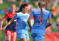 Boyds, MD - Saturday July 09, 2016: Vanessa DiBernardo during a regular season National Women's Soccer League (NWSL) match between the Washington Spirit and the Chicago Red Stars at Maureen Hendricks Field, Maryland SoccerPlex.