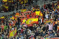 23.01.2013 World Championshio Handball. Match between Spain vs Germay at the stadium Principe Felipe. The picture show.