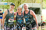 Listowel Endurance Festival: Listowel girls Diana Doyle, Catherine Hannon & Mary Toomet just after crossing the line in their 3 hour endurance test.