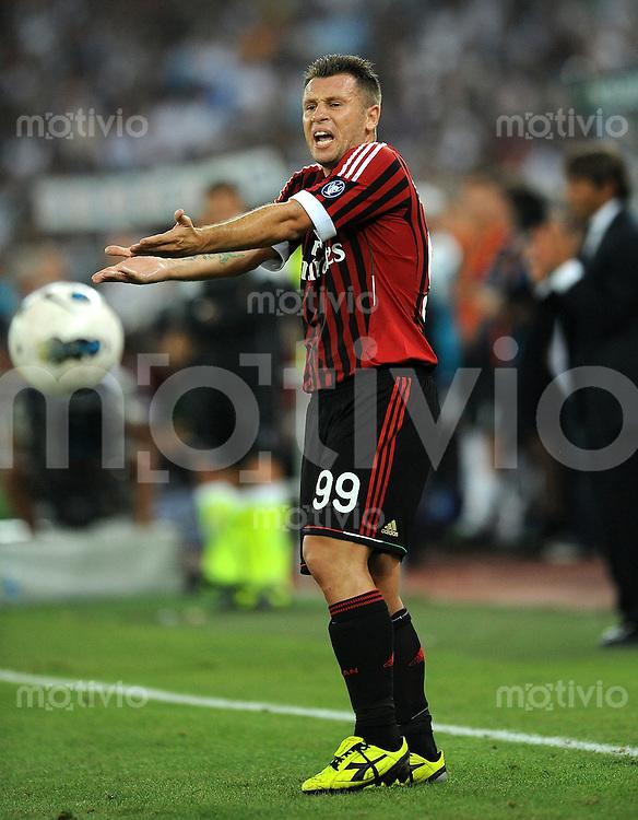 FUSSBALL INTERNATIONAL   SERIE A   Tim Trophy SAISON 2011/2012    AC Mailand   18.08.2011 Cassano Antonio (AC Mailand)