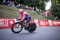 Sergio Higuita (COL/EF Education First)<br /> <br /> stage 10 (ITT): Jurançon to Pau (36.2km > in FRANCE)<br /> La Vuelta 2019<br /> <br /> ©kramon