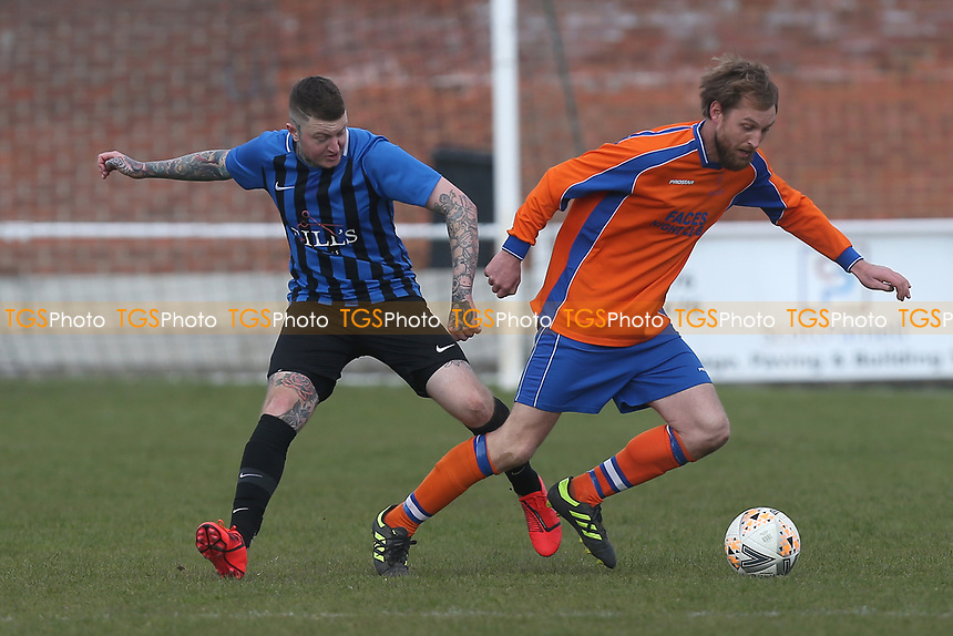 Onley Arms vs Witham Nomads, Braintree & North Essex Sunday League Cup Final Football at Rosemary Lane on 14th April 2019