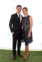 BEVERLY HILLS, CA - OCTOBER 7 : Jason Behr, KaDee Strickland, at The 2018 Rape Foundation Annual Brunch at Private Residence in Beverly Hills California on October 7, 2018. <br /> CAP/MPI/FS<br /> ©FS/MPI/Capital Pictures