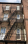 "Fire escape on apartment building in SE Washington DC, South East Washington DC townhouses, SE Washington DC, Fine art Photography and Stock Photography by Ronald T. Bennett Photography ©, FINE ART and STOCK PHOTOGRAPHY FOR SALE, CLICK ON  ""ADD TO CART"" FOR PRICING, Fine Art Photography by Ron Bennett, Fine Art, Fine Art photo, Art Photography,"