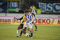 VOETBAL: SC HEERENVEEN: Abe Lenstra Stadion, 17-02-2012, SC-Heerenveen-NAC, Eredivisie, Eindstand 1-0, Filip Djuricic, Milano Koenders, ©foto: Martin de Jong