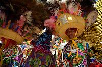 OLINDA, PE, 08.02.2016 - CARNAVAL-PE - Encontro de Maracatu na Casa da Rabeca, cidade de Olinda (PE), durante esta segunda-feira (08). (Foto: Diego Herculano / Brazil Photo Press)